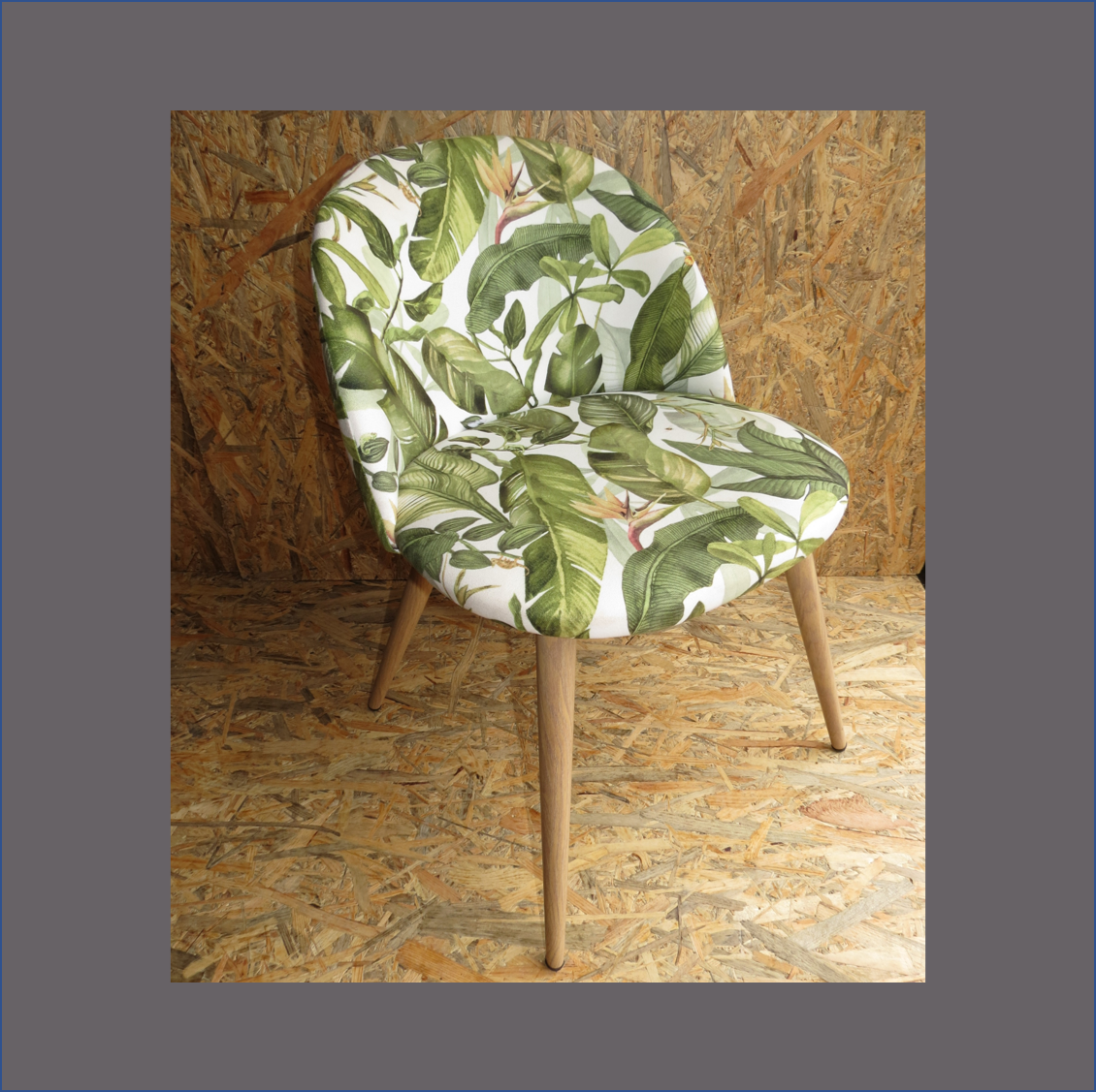 green-leave-occasional-chair