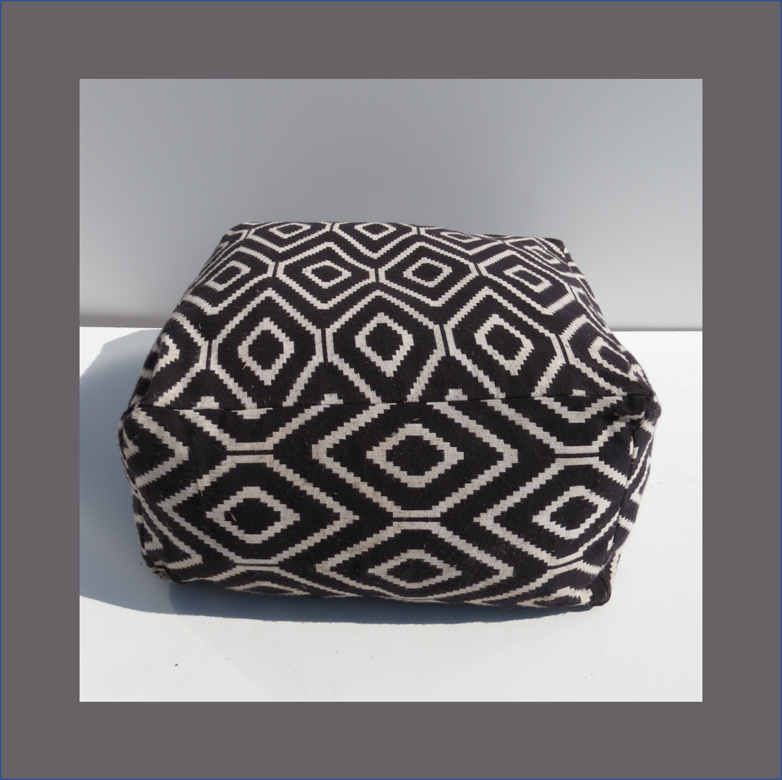 black-white-ethnic-poof-ottoman