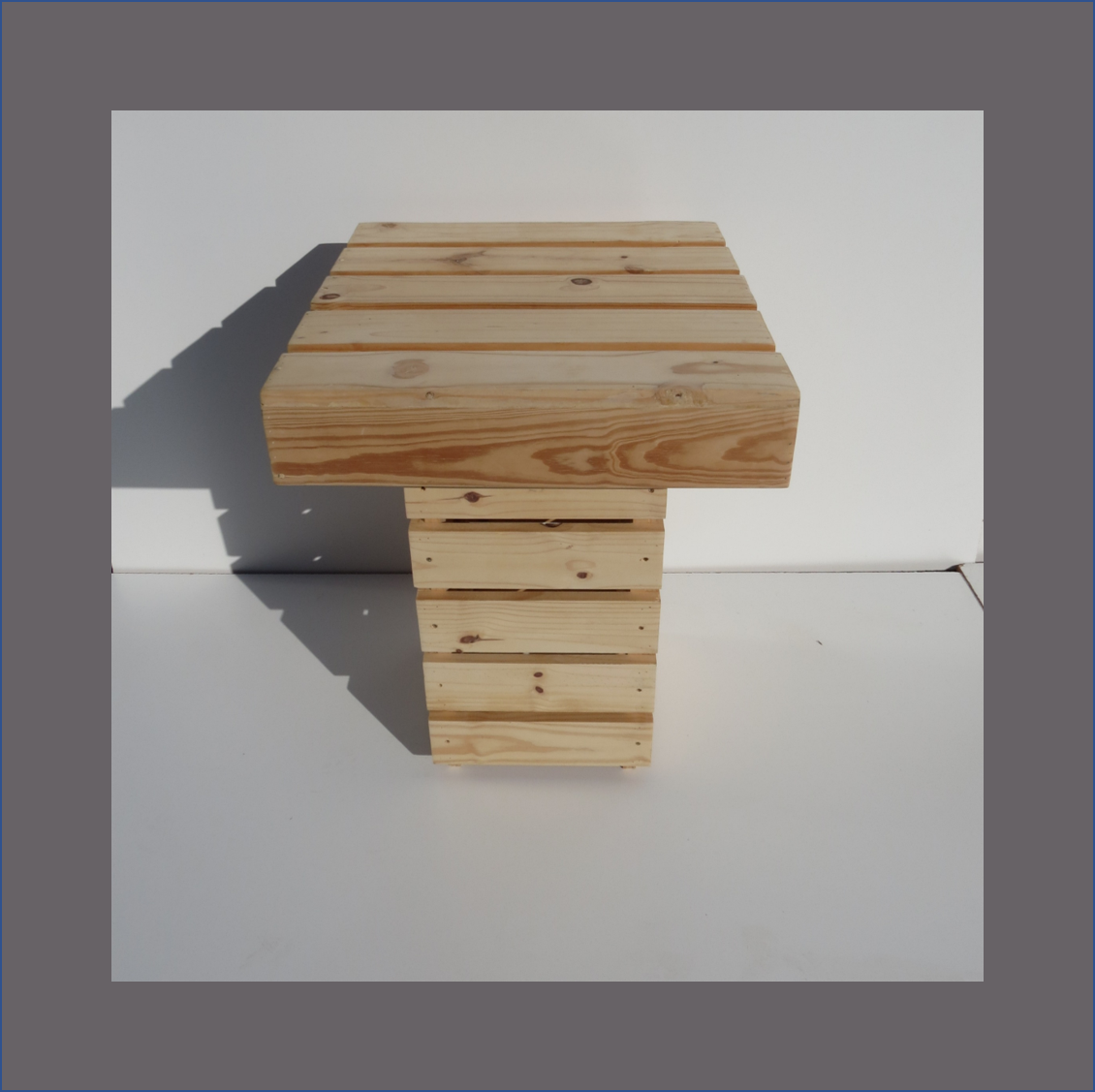 pine-slatted-cafe-table