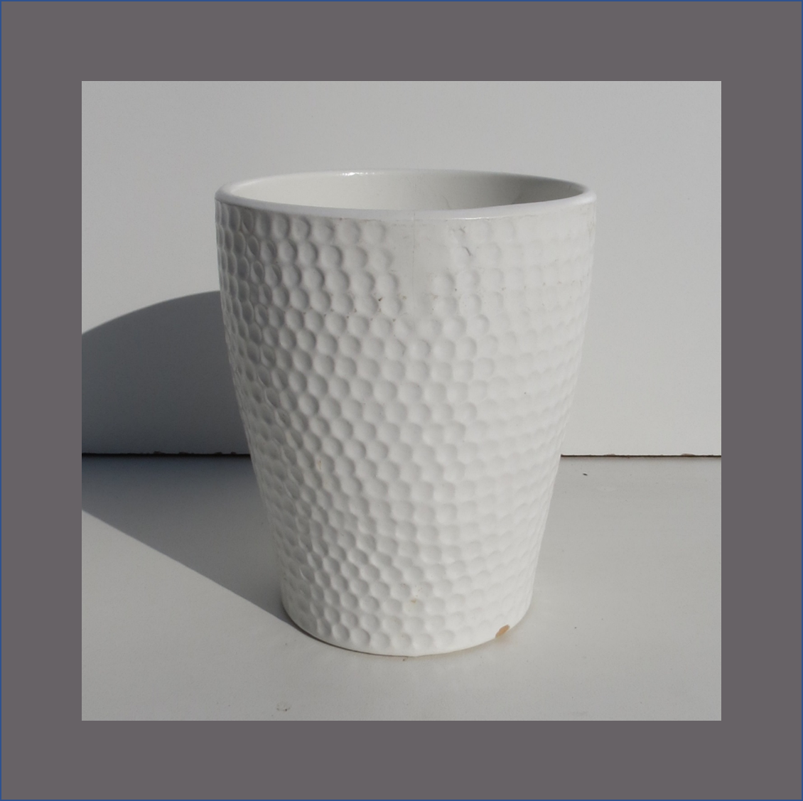 dimple-vase-white