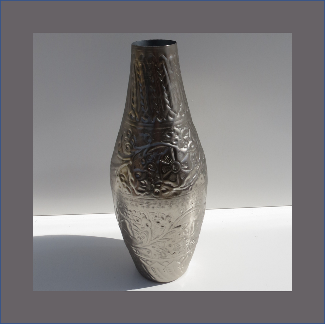 pewter-vase